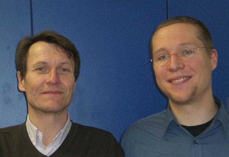 Ян Борн (слева) и Бьёрн Раш