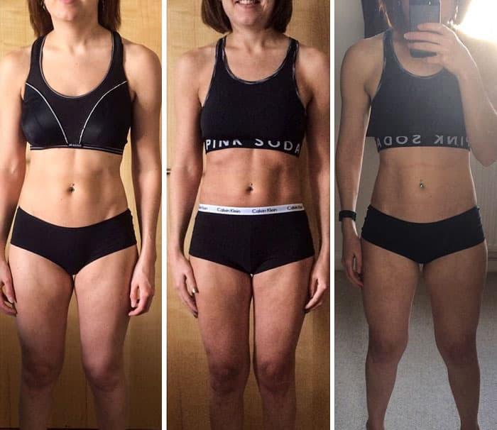 28 фотографий «До и После», доказывающих, что вес – просто цифра