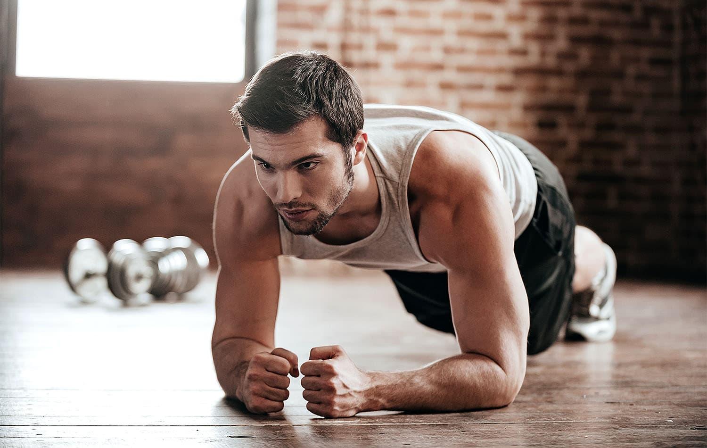 Упражнение планка: Техника выполнения