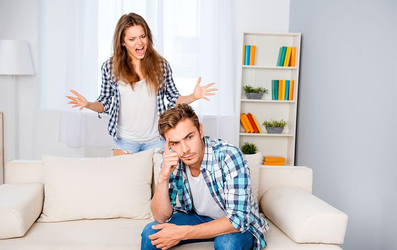 «Агрессивно веду себя с мужем. Что делать?»